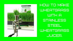 how to make wheatgrass juice,wheatgrass juicer review,best stainless steel wheatgrass juicer,how to use a stainless steel wheatgrass juicer,